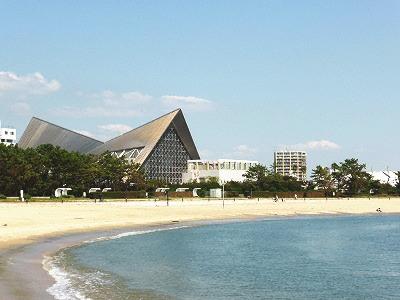 須磨海岸の須磨海浜水族園