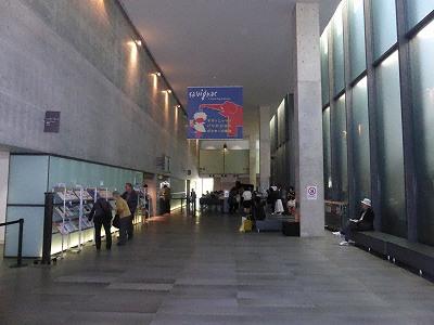 兵庫県立美術館「芸術の館」エントランスホール