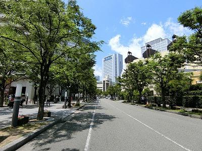 神戸ハーバーランドのメインストリート神戸ガス燈通り