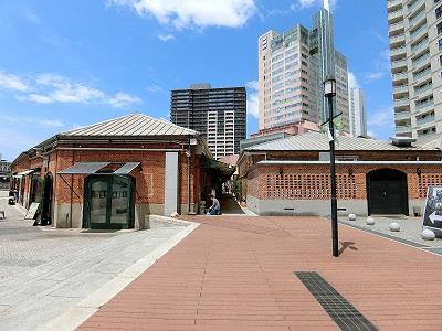 神戸煉瓦倉庫2棟