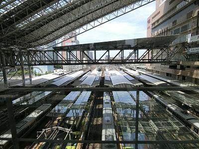 JR大阪駅ホーム群