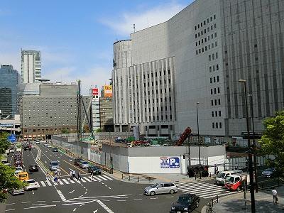 ヨドバシ梅田タワー建設地
