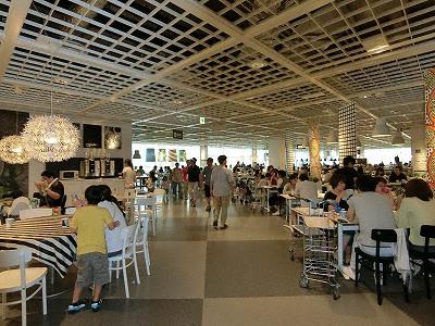 イケア神戸2Fレストラン