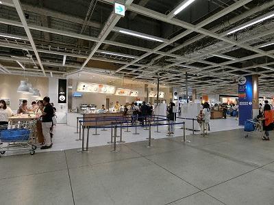 イケア神戸1Fビストロ(フードコート)