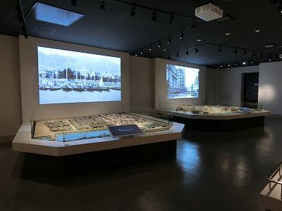 神戸市立博物館の外国人居留地復元模型