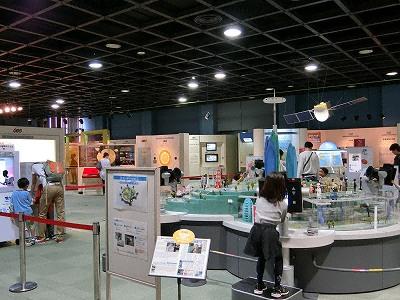 神戸市立青少年科学館第2展示室