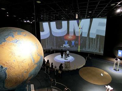 神戸市立青少年科学館第3展示室
