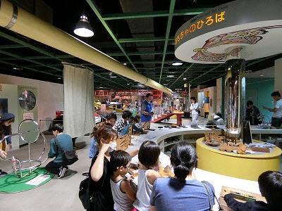 神戸市立青少年科学館第6展示室
