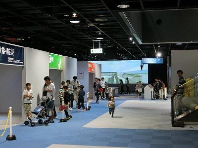 神戸市立青少年科学館第4展示室