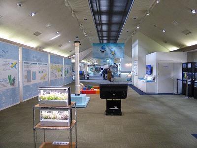 神戸市水の科学博物館2F展示室