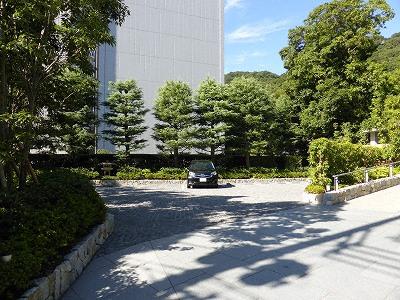 竹中大工道具館駐車場
