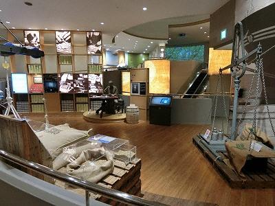 UCCコーヒー博物館展示室3 鑑定