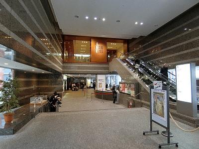 京都文化博物館本館1Fロビー
