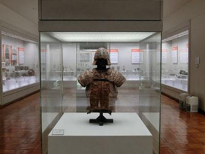甲冑(5世紀、ニゴレ古墳出土)