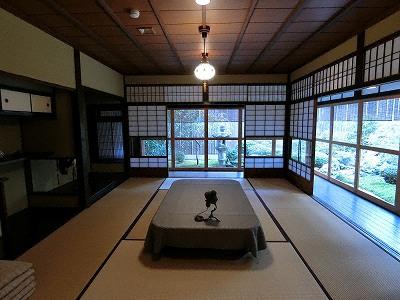 初代・二代島津源蔵の居室