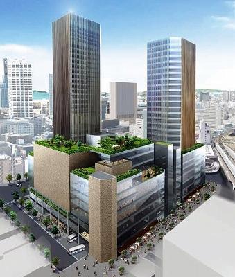 神戸三宮バスターミナル・ツインタワー