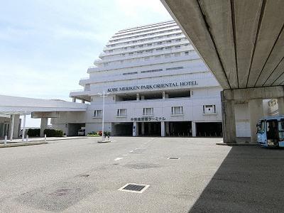 中突堤旅客ターミナル1F駐車場