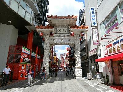 神戸南京町の長安門(東門)