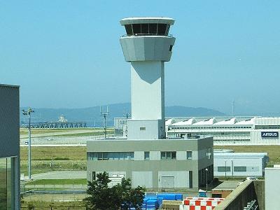 神戸空港管制塔