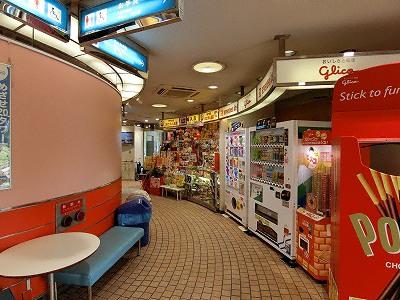 神戸ポートタワーのお土産ショップ