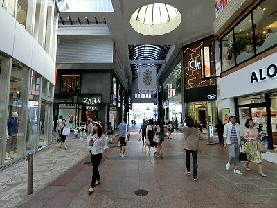 クレフィ三宮(Clefy三宮)、ZARA三宮、ユニクロ神戸三宮店