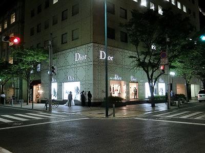 ディオール神戸の夜景