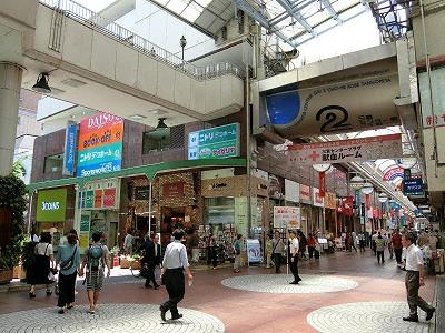 神戸三宮センター街に面したグレースコウベビル