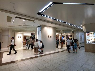 神戸阪急のさんちか入口