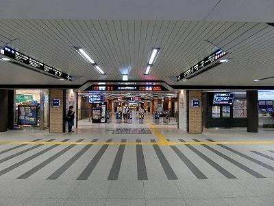 ミント神戸直結の阪神電鉄神戸三宮駅東口