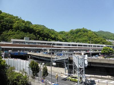 JR山陽新幹線新神戸駅