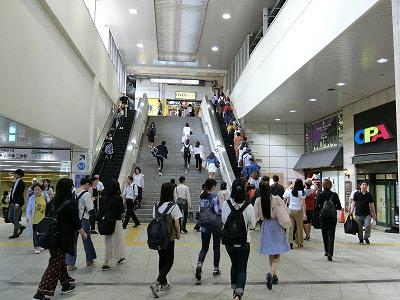 さんちかA11出入口(ターミナルビル地下広場)