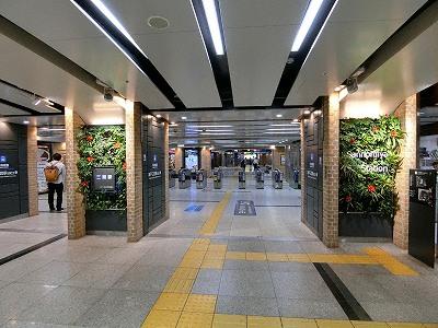 さんちか直結の阪神電鉄神戸三宮駅西口