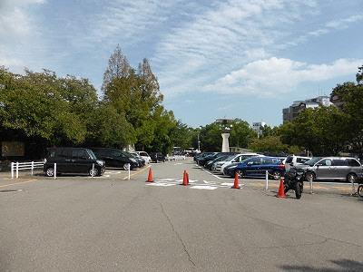 王子動物園の王子公園駐車場