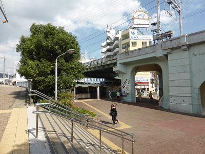 阪急神戸線王子公園駅