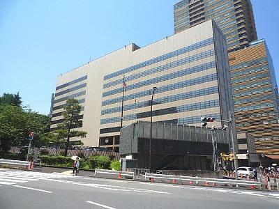 アメリカ大使館 住所